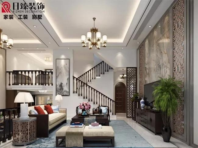 【日臻原创设计】现代简约风格36.2万全包179平方别墅
