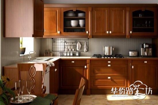 【一号家居网】厨房中式风格 传统中式风感觉