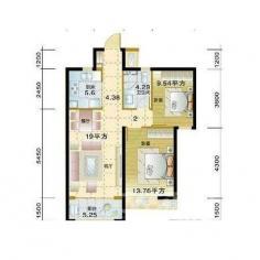 蒙城北路 北城世纪城裕徽苑 两室两厅 采光好 无税 低价急售
