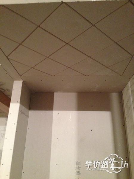 进户区的双层石膏板吊顶