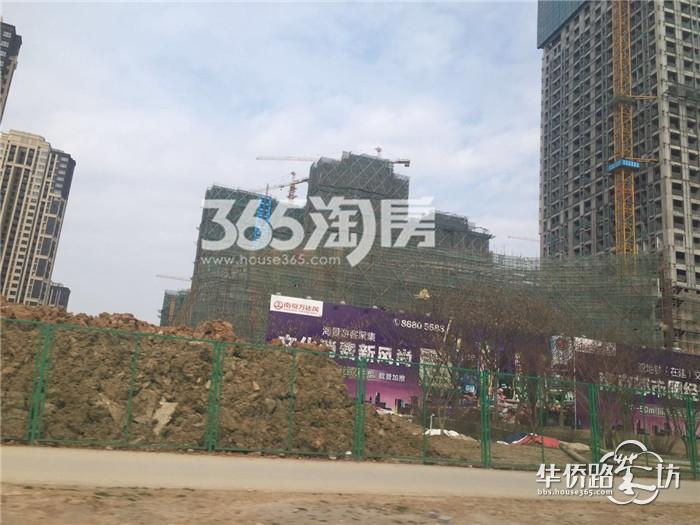 【万达茂成长记26】万达茂大型商业预计18年6月开业,二期住宅外立面已经出来啦~
