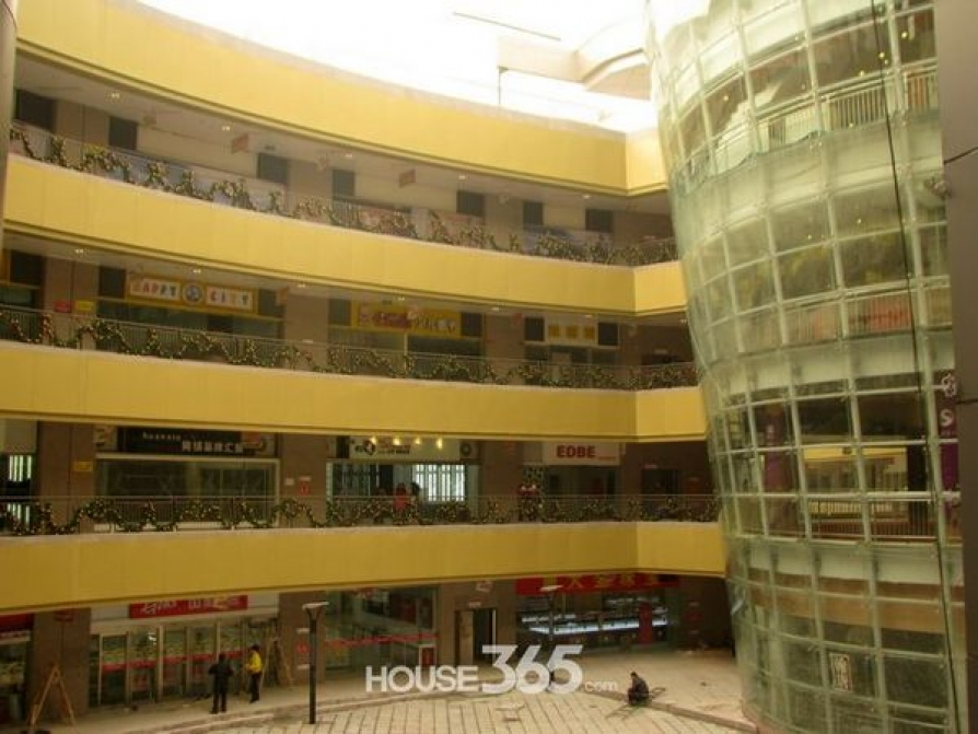 联盛商业广场105平米2010年可注册公司精装