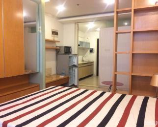 奥体东站旁 新出单室套 拎包入住 干净整洁 新配家电 租金