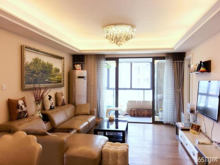 仙林湖 万科金色领域 精装三室 西边户 一期 户型方正 看房方便