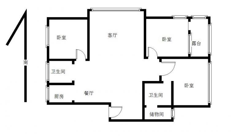 【新出 地铁口 莱茵东郡 大三房 精装 拎包入住_南京