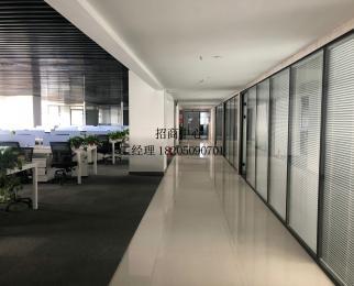 安科大厦 招商部整层 全套家具1256平 全新装修