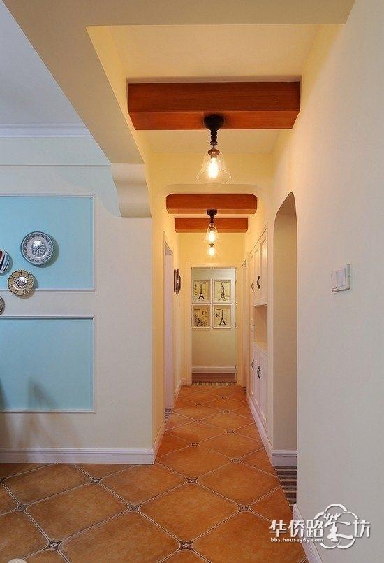【江水平装修方案】124平三居室混搭风格,温馨且不失质感