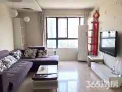 地铁1号线百家湖现代城国际公寓精装两房设施齐全拎包入住