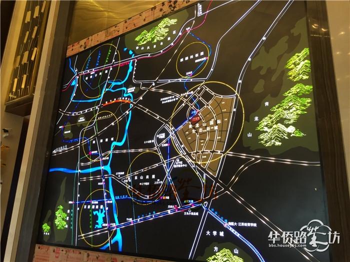 【茶坊独家抢鲜看】南京青龙山国际生态新城首个将面世的项目——东城金茂悦售楼处快做好啦!进来看间谍大图