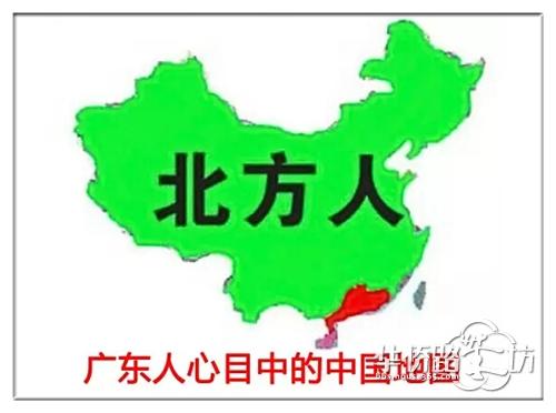 四川人心中的中国地图