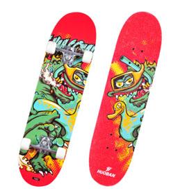 戏水龙枫木滑板