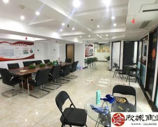 河西万达广场 精装 办公 有钥匙 可注册 全套办公家具 地